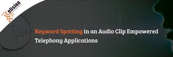 keyword spotting in audio recording
