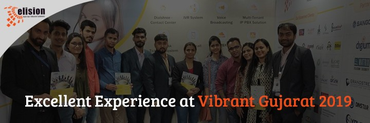 Excellent Experience at Vibrant Gujarat 2019