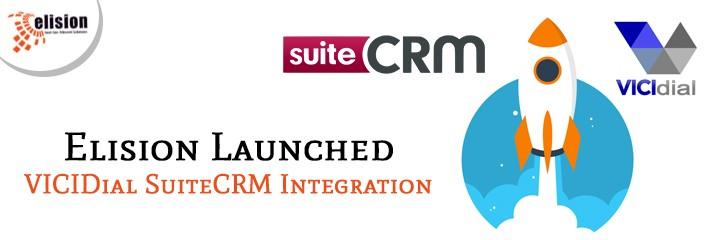 Elision Launched VICIDial SuiteCRM Integration