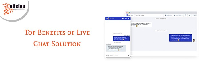 Top Benefits of Live Chat Solution