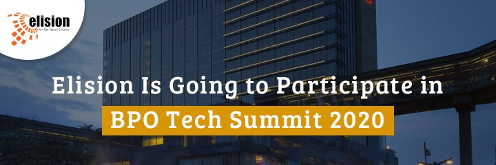 Elision Is Going to Participate in BPO Tech Summit 2020