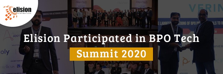Elision Participated in BPO Tech Summit 2020
