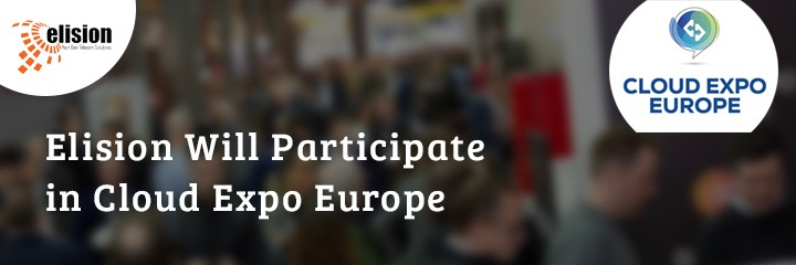 Elision Will Participate in Cloud Expo Europe